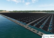 Vattenfall bouwt eerste drijvende zonnepark