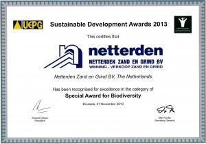 2013-11 UEPG Award
